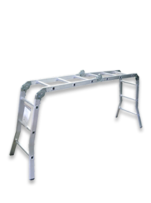 Laddermenn Ladders | L M Metals (S) Pte Ltd | Adjustable Folding Ladder