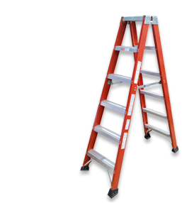 Laddermenn Ladders | L M Metals (S) Pte Ltd | Fibreglass Ladder
