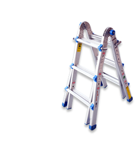 Laddermenn Ladders | L M Metals (S) Pte Ltd | Multi Purpose Ladder